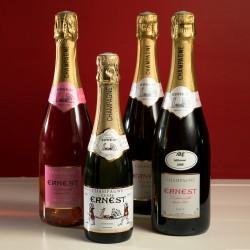Champagne rosé Ernest 75 cl