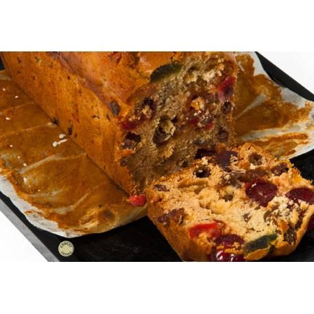 Cake aux fruits - 600 gr