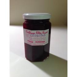 Confiture de fraise-rhubarbe 390 gr